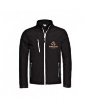 Loftsails Softshell Jacket Men Black Size L