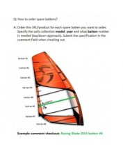 Loftsails complete batten to be defined