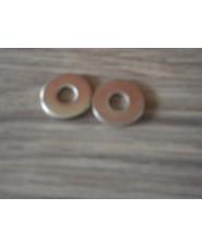 10x RVS Ring voor onder vinbout