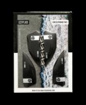PLKB G10 fins 40mm black (set of 4)