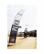 PLKB Beach Flag 90x515 (incl pole & groundspike)