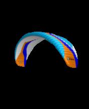 Peter Lynn Vapor II 16.6 aqua-orange-blue